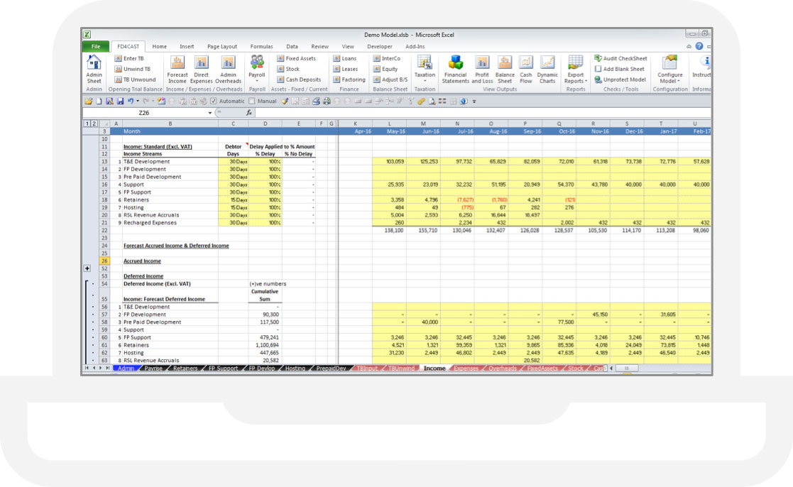 Excel Budgeting